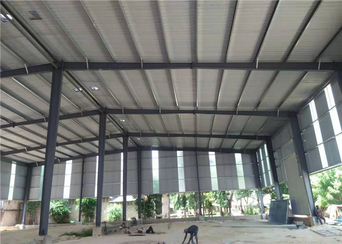 Zinc Coloured Corrugated Sheets Roof Design Philippines Steel Structure Workshop Of Steel Structure Construction