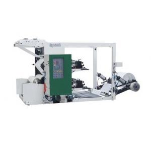 China Two Color Flexo Printing Machine , Middle / High Flexo Roll Printing Machine YTZ Series on sale