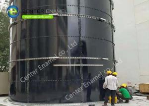 China Glass Fused To Steel Above Ground Storage Tanks For Industrial Wastewater Treatment Plant on sale