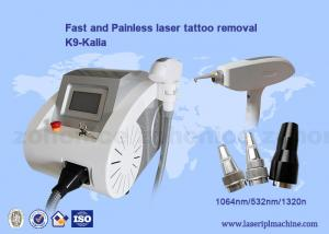 China Mini Portable Nd Yag Laser Tattoo removal / Q Switch nd yag laser machine on sale