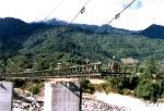 大きいスパンの石のアンカーが付いている鋼鉄懸濁液ケーブルの滞在橋