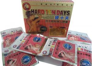 China Hard Ten Days Herbal Dick Enlargement Tablets , Big Penic Medicine Natural Material on sale