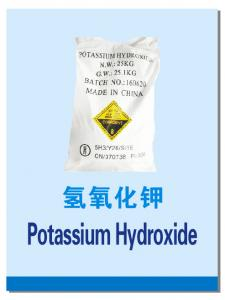 China Factory Price of Potassium Hydroxide (KOH) Flakes 90%Min Purity -Qingdao Hiseachem on sale