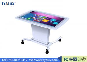 China 1080P 55 Inch Smart Touch Table LCD Media Player double operation system on sale