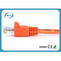 1M 2M 3M Cat5e UTP Network Patch Cable Fire Protection With Colorful RJ45 Plug Boots