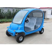 4 Passengers Electric Car Golf Cart , 4 Wheels Tourist Small Electric Cars