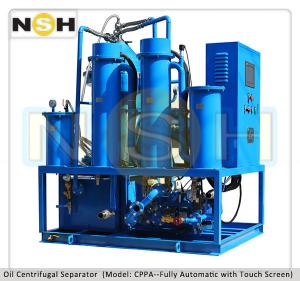 China HFO / Diesel Oil / Lubrication Oil Filtration Plant Centrifugal Oil Filtration on sale