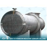 Gr9 ETC Seamless Titanium Pipe ASTM B338 For Heat exchangers