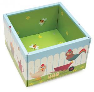 China Cute Corrugated Cardboard Furniture ENPD025  for Home Storage Case on sale