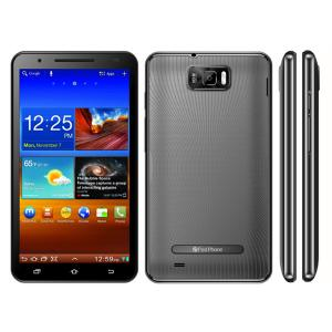 China 6.0 Inch Dual Standby Android Phone Multi Language 3G N9006 MT6575 on sale