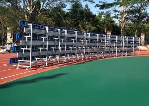 China Retractable Temporary Spectator Seating Stands With Aluminum Single Foot Plank on sale