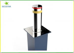 China LED Flashing Remote Control Automatic Bollard Systems Connect With Road Barrier on sale