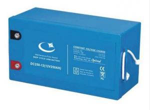Quality DC250-12 Rechargeable Valve Regulated Lead Acid Battery 12v 250Ah For Marine for sale