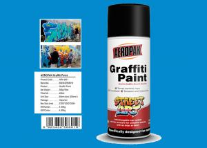 China Diamond Blue Color Custom Spray Paint Resists Fading For Interior And Exterior on sale