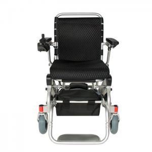 China 100KG Lithium Ion Collapsible Electric Wheelchair on sale