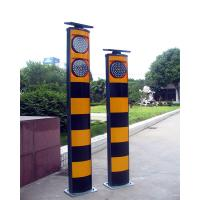 China 200mm solar powered blinking warning light, solar flasher beacons on sale