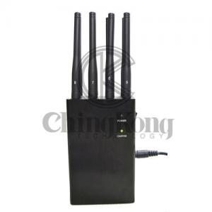 China Remote Control Handheld Signal Jammer Adjustable Power For Bluetooth Signals on sale