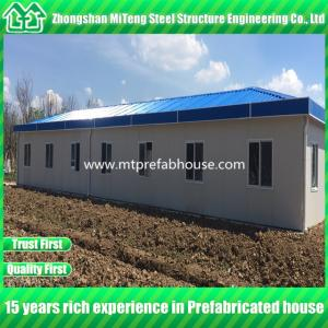 China Modern designed light steel prefabricated house/Modular house on sale