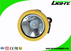 China 4000lux LED Mining Light  3.7V Rated  Voltage 191g Weight With Single Charger on sale