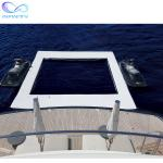 Ocean Sea Inflatable Yacht Swimming Pool With Netting Enclosure