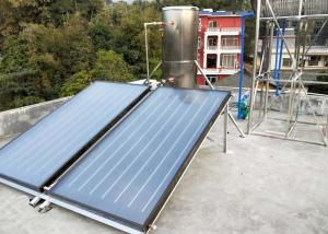 China Durable Rooftop Solar Water Heater Directed / Indirected Heating System on sale