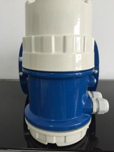 China High Temperature 1.6Mpa PTFE Electromagnetic Flow Meter Anti Interference on sale