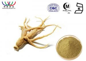China Light Yellow  Ginseng Root Extract Food Grade For Natural Food Additives on sale