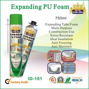 China 750ml High Temp Pu Foam Spray Glue For Insulating Building Seam , Joint on sale