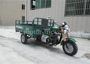 China RS200ZH-FC Three Wheel Cargo Motorcycle , Gasoline Tricycle Designed Logo on sale