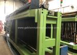 Bridge Double Twist Gabion Machine PVC Coated 22kw For 80x100MM With Mesh Size