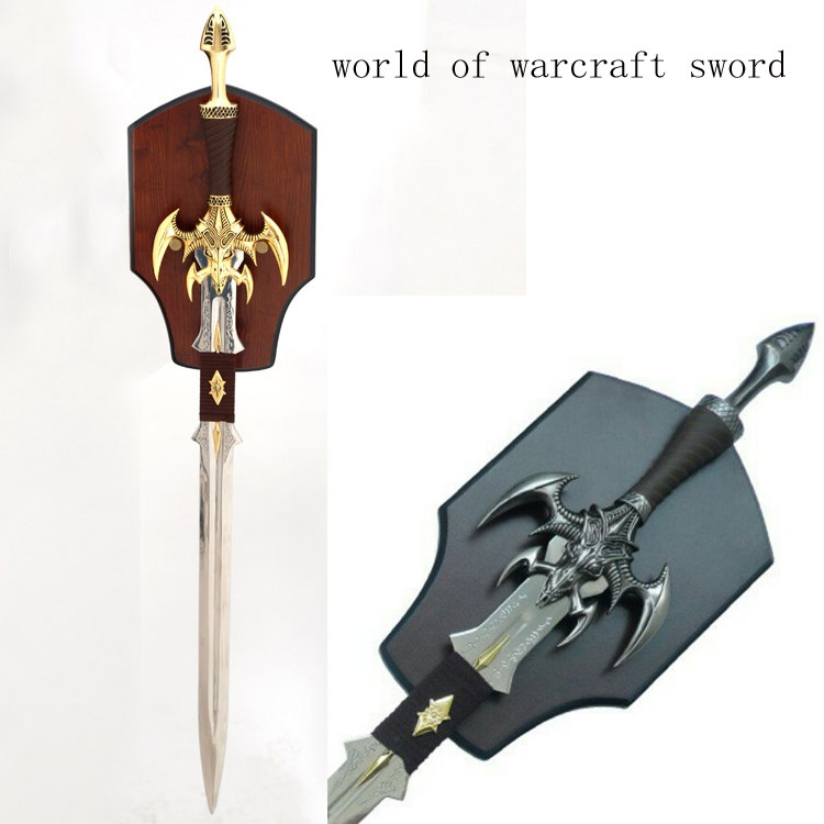 Decorative World Of Warcraft Replica Night Elf Sword 9512036 For