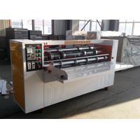 Thin Blade Corrugated Partition Slitter Scorer Machine / Cardboard Making Machine