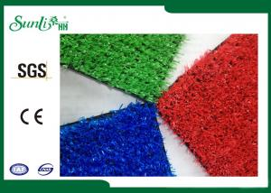 China PP Blue Green Red  Kindergarten Artificial Turf Excellent Performance on sale