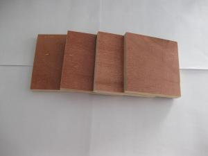 China Red Waterproof Paint concrete plywood with Black / Brown Film Faced on sale