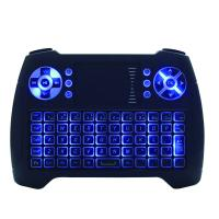 China Ergonomic 2.4g Touch Pad Keyboard With Rechargeable Lithium Battery on sale