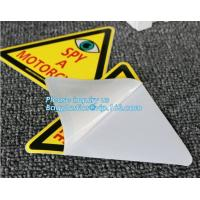China Die Cut Logo Custom Stickers&UV Protection Vinyl Sticker,UV Coating Outdoor Waterproof Die Cut Logo Custom Vinyl Sticker on sale