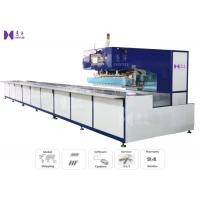 HF Exhibition Tent Tarpaulin Welding Machine Slide Table With PLC Touch Screen HMI Control Panel