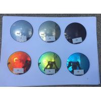 Mirror Coating Prescription Sunglass Lenses 70MM Diameter 1.499 Index