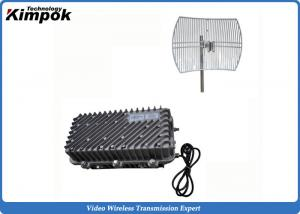 China 10-50W High RF Wireless Video Sender 100km on Sea Long Distance Video Transmitter Wireless on sale