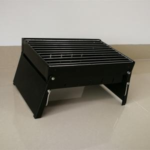 China Black Color Foldable Bbq Cooking Grill Set Barbecue Pits For 1-5 People on sale