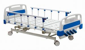 China Temporary Manual Hospital Bed Equipment With Four Revolving Crank 700 mm Height on sale
