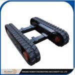A mini estrutura/borracha de borracha da trilha seguiu a carga pequena chassis/DIY da estrutura que projeta a unidade machinary