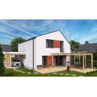 China Quick Install steel frame prefabricated houses Full Hard Galvalume Light Gauge Steel Luxury Villa on sale