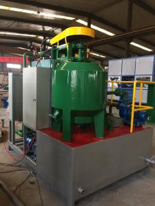 China Paper runner molding machine, paper pouring pipe machine , Paper pouring channel tube for casting on sale