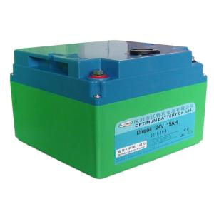 China Rechargable Optimum Lifepo4 Battery Pack For Ups 24 Volt 15ah on sale