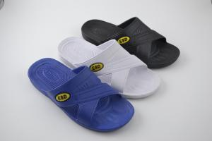 2de0b918e2fc ... Quality Washable Durable Anti Static Shoes Blue Color Attractive Clean  Room Slippers For for sale