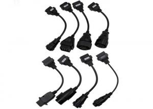 China Truck Extension Car OBD Cable , OBD2 Extension Cable TCS CDP Pro 8pcs Full Sets on sale