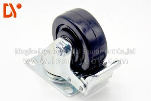 China Polyurethane Industrial Caster Wheels Heavy Duty Directional Style Customized Color on sale
