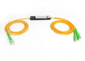 China SC/APC Optical Fiber Splitter single mode dual window FBT couplers on sale