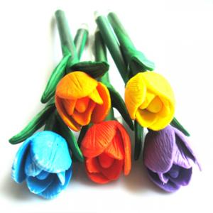 China flower pen for gift promotion on sale